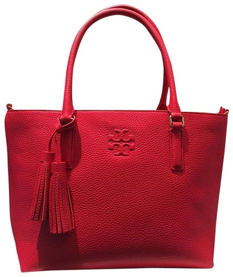 Preload https://img-static.tradesy.com/item/25824735/tory-burch-thea-bag-small-convertible-red-leather-tote-0-1-540-540.jpg