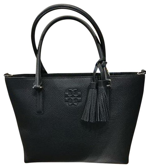 Preload https://img-static.tradesy.com/item/25824782/tory-burch-thea-bag-small-convertible-black-leather-tote-0-1-540-540.jpg