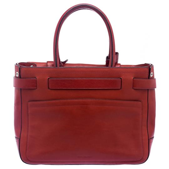 Reed Krakoff Leather Boxer Tote in Red Image 1