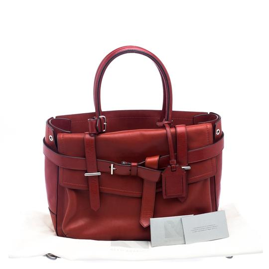 Reed Krakoff Leather Boxer Tote in Red Image 10