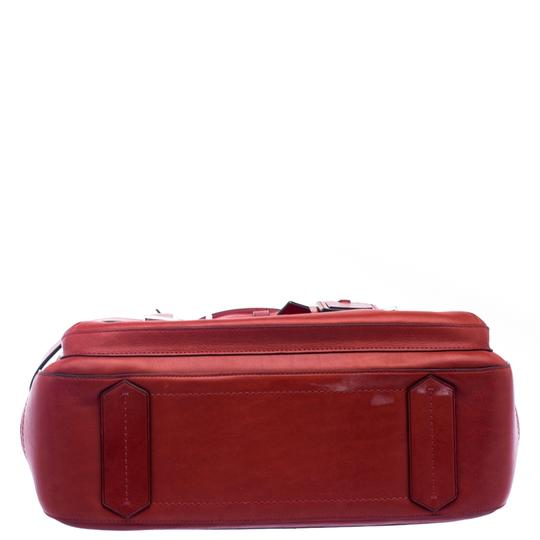 Reed Krakoff Leather Boxer Tote in Red Image 3