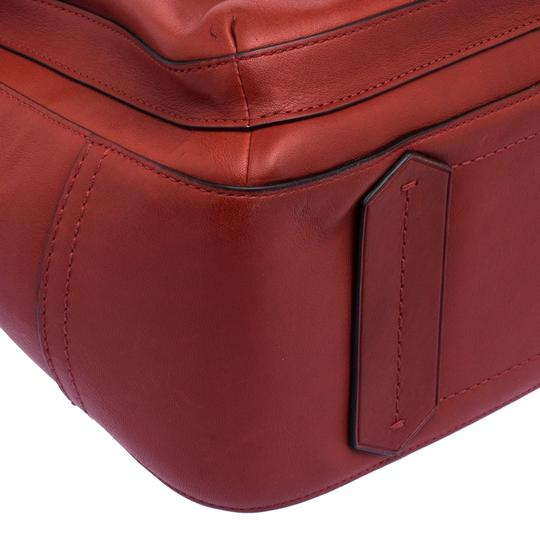 Reed Krakoff Leather Boxer Tote in Red Image 7
