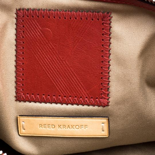 Reed Krakoff Leather Boxer Tote in Red Image 8