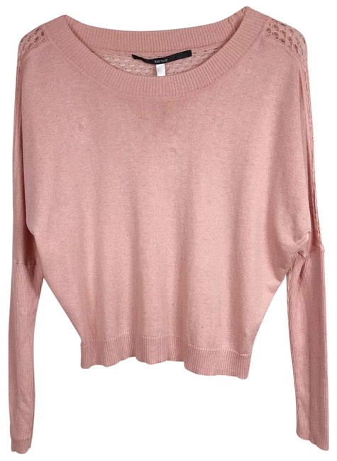 Preload https://img-static.tradesy.com/item/25824875/kensie-casual-knit-back-peach-sweater-0-1-650-650.jpg