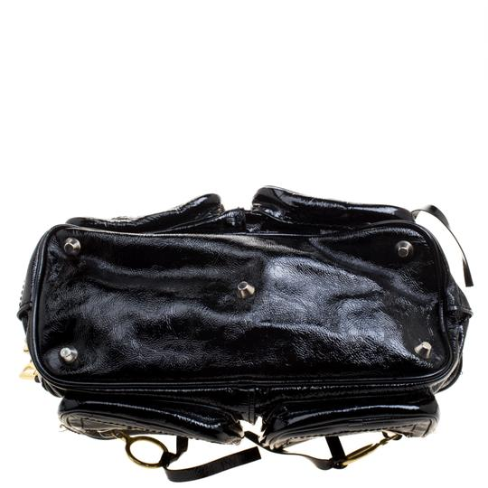 Chloé Patent Leather Satchel in Black Image 3