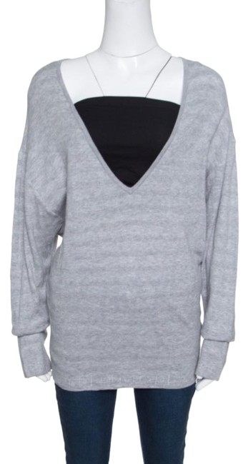 Chanel Cotton Knit V-neck Sweater Image 0