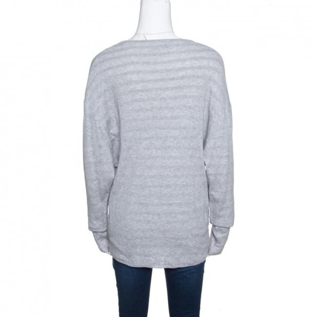 Chanel Cotton Knit V-neck Sweater Image 1