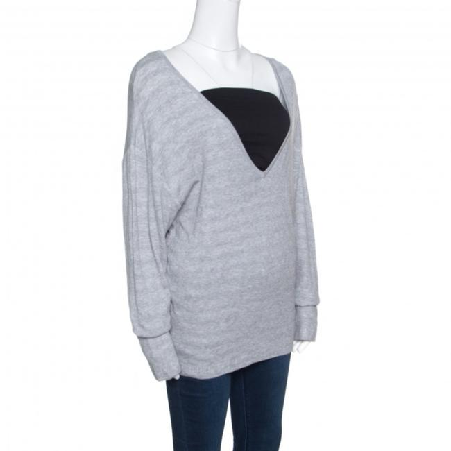 Chanel Cotton Knit V-neck Sweater Image 2
