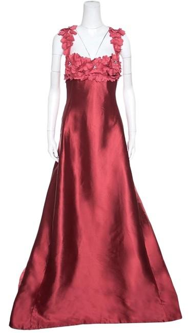 Preload https://img-static.tradesy.com/item/25824949/reem-acra-red-l-silk-floral-applique-bodice-detail-embellished-gown-long-casual-maxi-dress-size-12-l-0-1-650-650.jpg