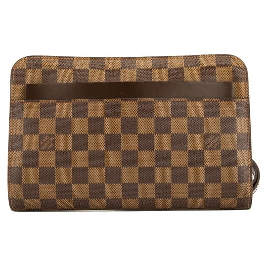 Louis Vuitton Brown Clutch Image 0