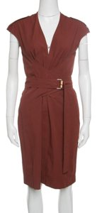 Gucci Cotton Belted Detail Dress