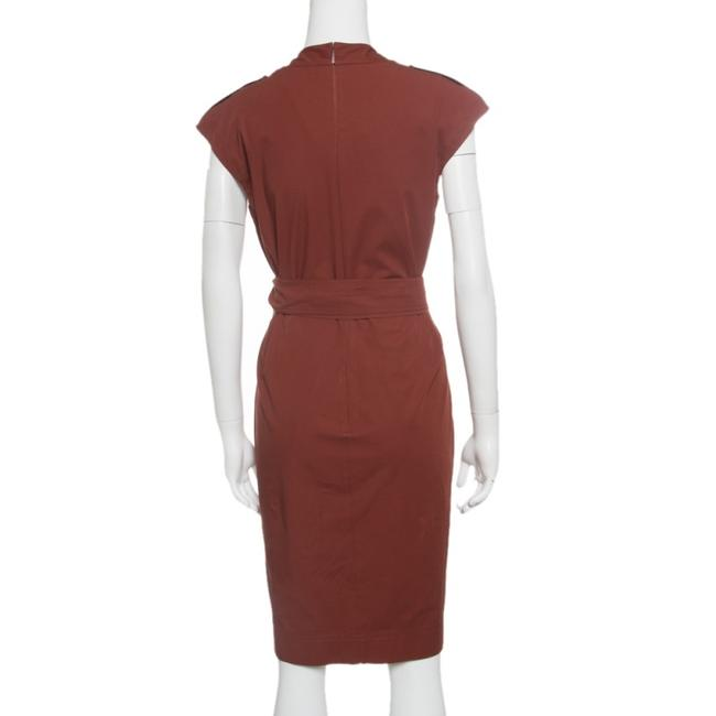 Gucci Cotton Belted Detail Dress Image 1