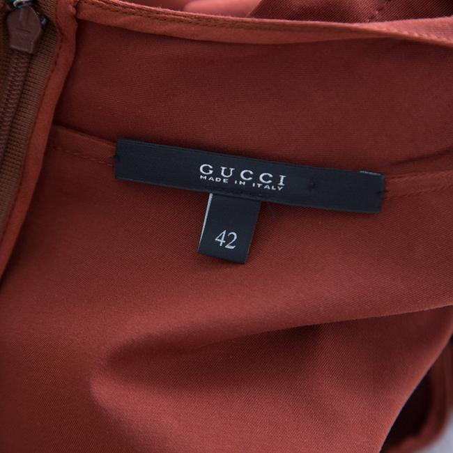 Gucci Cotton Belted Detail Dress Image 4