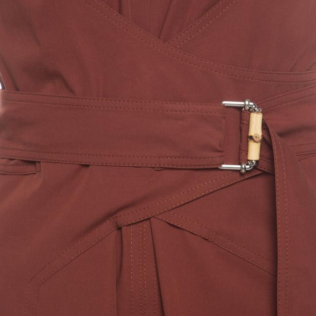 Gucci Cotton Belted Detail Dress Image 5
