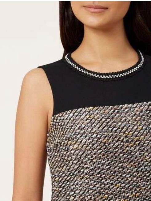 Hobbs London Tweed Sleeveless Dress Image 2