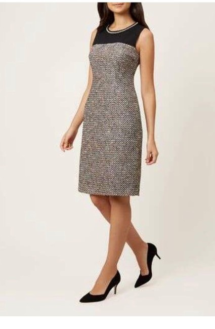 Hobbs London Tweed Sleeveless Dress Image 5
