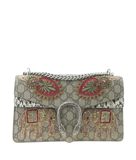 Preload https://img-static.tradesy.com/item/25824988/gucci-400249-small-elephant-embroidered-gg-175286-brown-pythonxcoated-canvas-shoulder-bag-0-0-540-540.jpg
