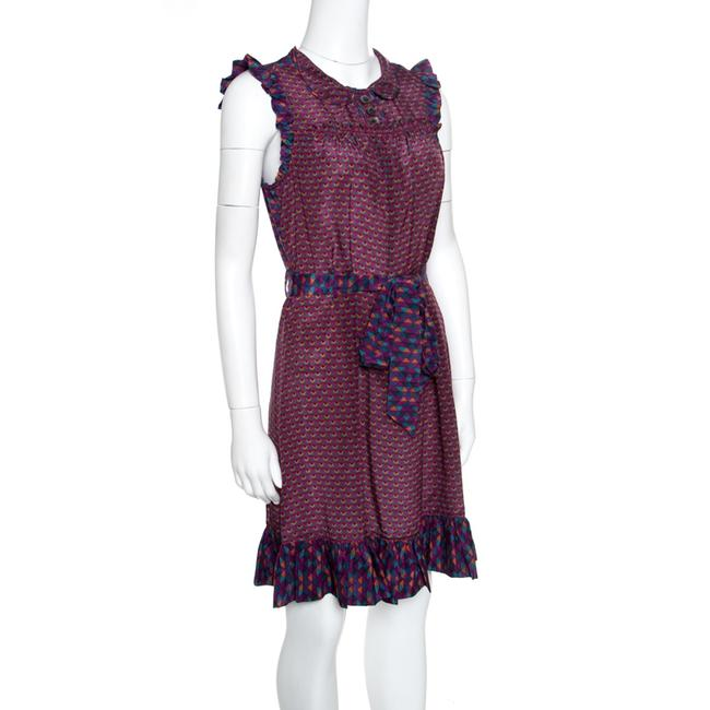 Marc by Marc Jacobs Silk Belted Dress Image 1