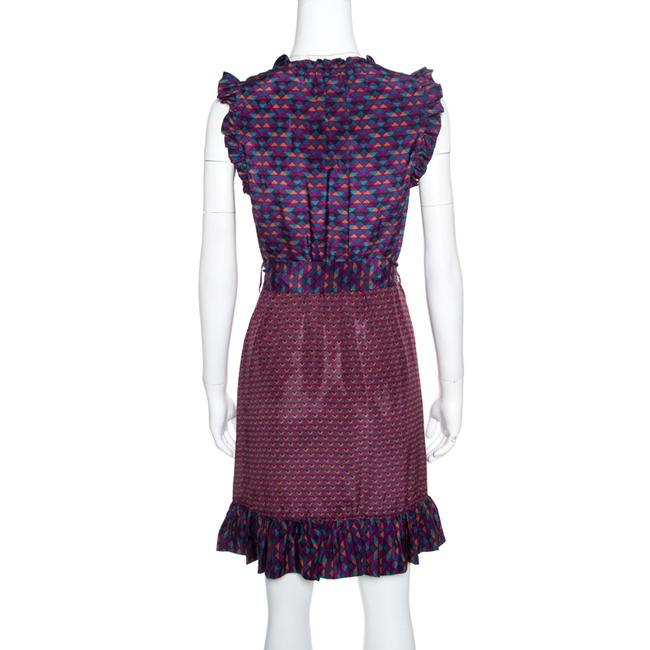 Marc by Marc Jacobs Silk Belted Dress Image 2
