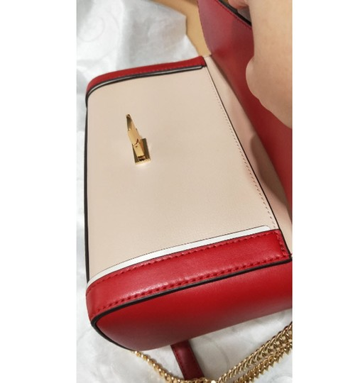 Michael Kors Blossompink Floral Shoulderbag Satchel in red pink Image 1