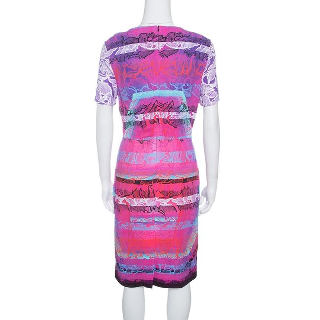 Peter Pilotto Short Sleeve Viscose Dress Image 1