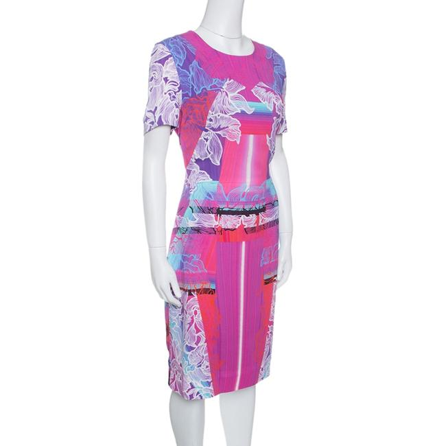 Peter Pilotto Short Sleeve Viscose Dress Image 2