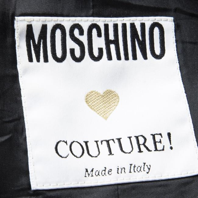 Moschino Sleeveless Acetate Rayon Top Black Image 4