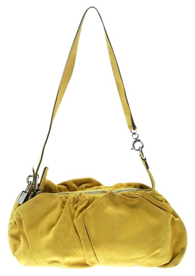 Preload https://img-static.tradesy.com/item/25825082/dolce-and-gabbana-regina-yellow-suede-shoulder-bag-0-1-540-540.jpg