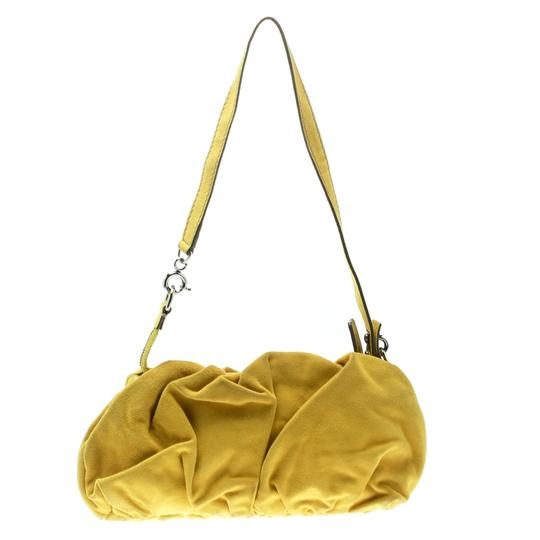 Dolce&Gabbana Suede Canvas Shoulder Bag Image 1