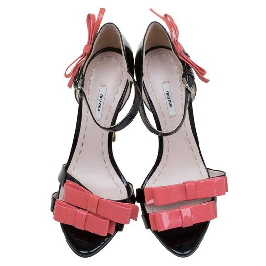 Miu Miu Patent Leather Black Pumps Image 1