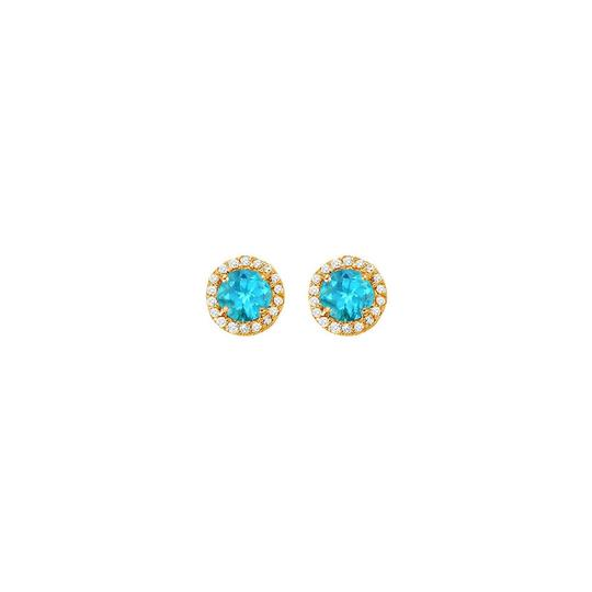 Preload https://img-static.tradesy.com/item/25825147/blue-december-birthstone-topaz-and-cubic-zirconia-halo-stud-earrings-1-ring-0-0-540-540.jpg