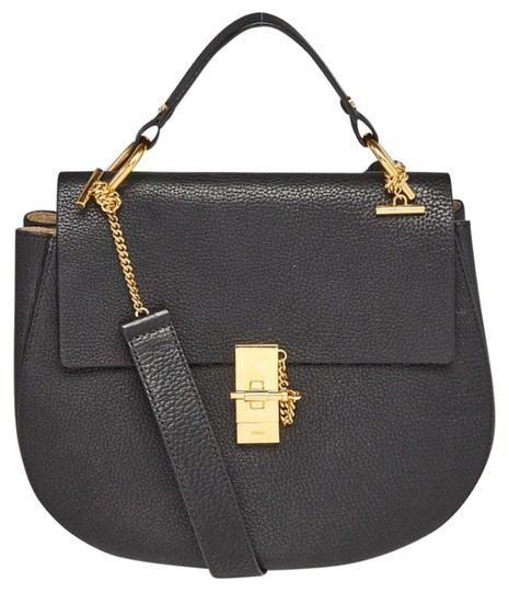 Preload https://img-static.tradesy.com/item/25825150/chloe-drew-pebbled-black-leather-shoulder-bag-0-2-540-540.jpg