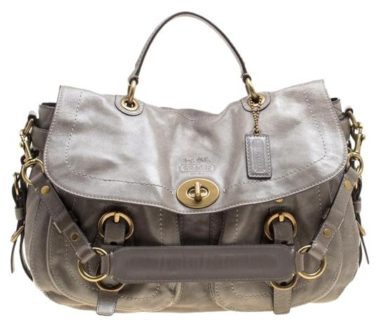 Preload https://img-static.tradesy.com/item/25825157/coach-top-handle-glazed-double-pocket-with-wallet-grey-leather-shoulder-bag-0-1-540-540.jpg