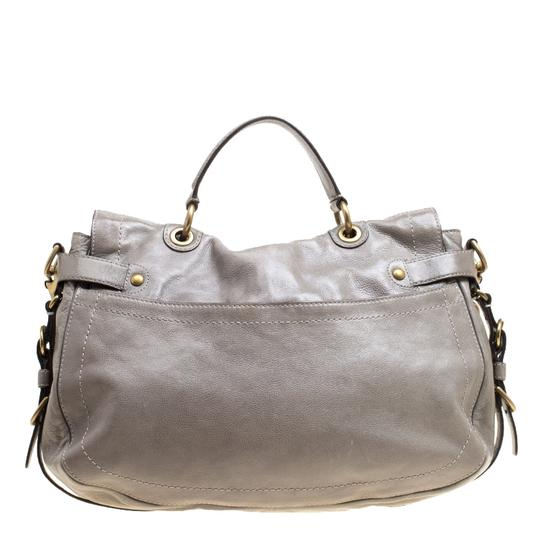 Coach Leather Satin Shoulder Bag Image 1