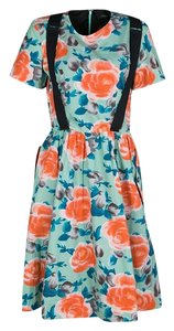 Multicolor Maxi Dress by Marc by Marc Jacobs Cotton Poplin