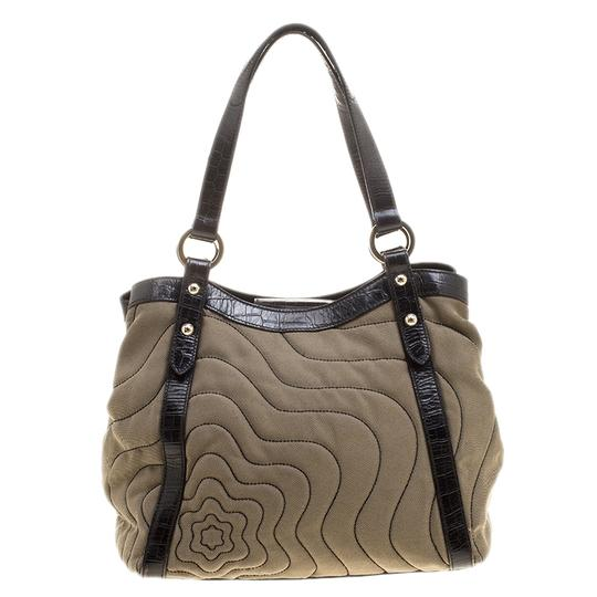 Montblanc Canvas Nylon Tote in Beige Image 1