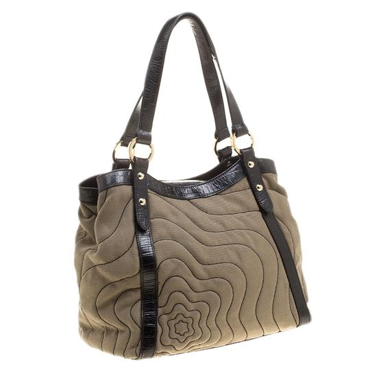 Montblanc Canvas Nylon Tote in Beige Image 3