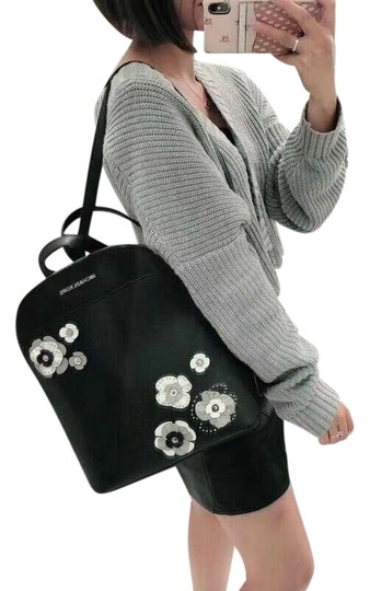 Preload https://img-static.tradesy.com/item/25825227/michael-kors-emmy-large-floral-studs-flowers-black-leather-backpack-0-1-540-540.jpg