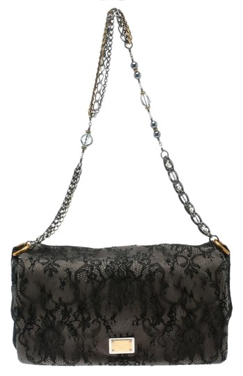 Preload https://img-static.tradesy.com/item/25825250/dolce-and-gabbana-blacktaupe-lace-and-miss-charles-black-suede-shoulder-bag-0-1-540-540.jpg