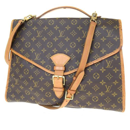 Preload https://img-static.tradesy.com/item/25825265/louis-vuitton-beverly-2way-briefcase-hand-brown-monogram-leather-shoulder-bag-0-0-540-540.jpg