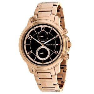 Tommy Hilfiger Tommy Hilfiger Women's Claudia Rose Gold Tone Steel Strap Watch