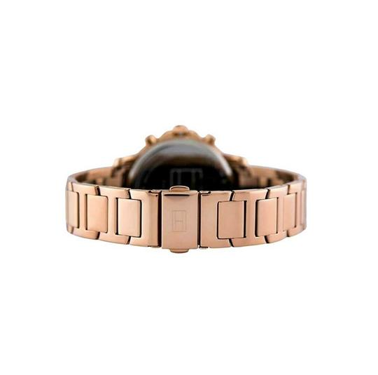 Tommy Hilfiger Tommy Hilfiger Women's Claudia Rose Gold Tone Steel Strap Watch Image 1