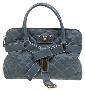 Marc Jacobs Leather Fabric Tote in Grey
