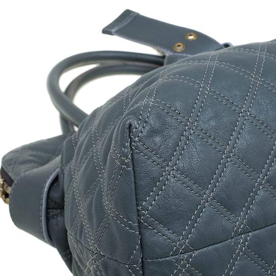 Marc Jacobs Leather Fabric Tote in Grey Image 10