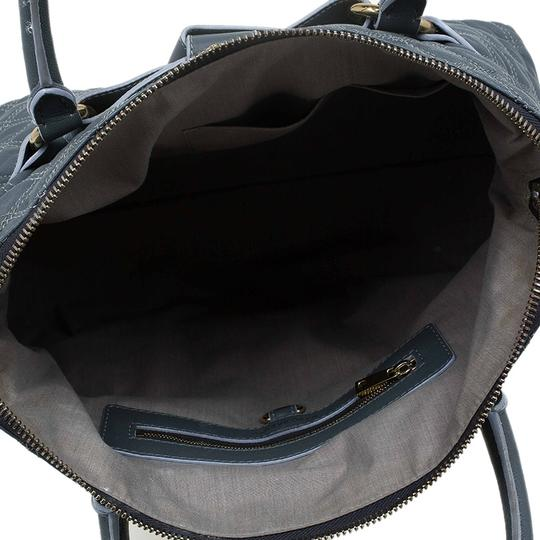 Marc Jacobs Leather Fabric Tote in Grey Image 5