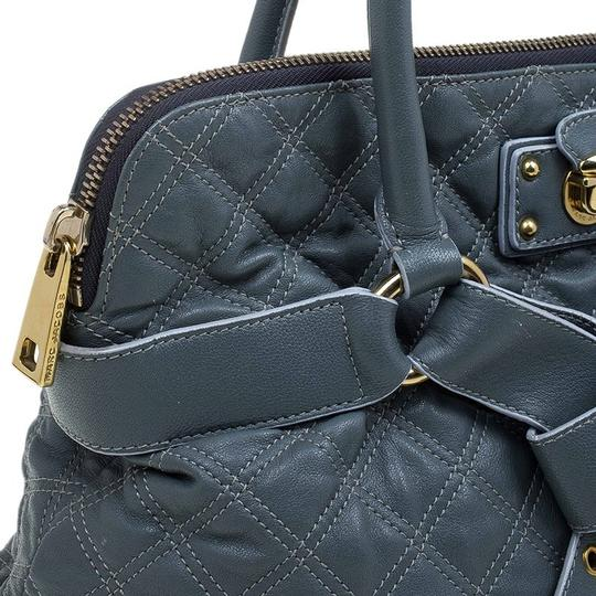 Marc Jacobs Leather Fabric Tote in Grey Image 7