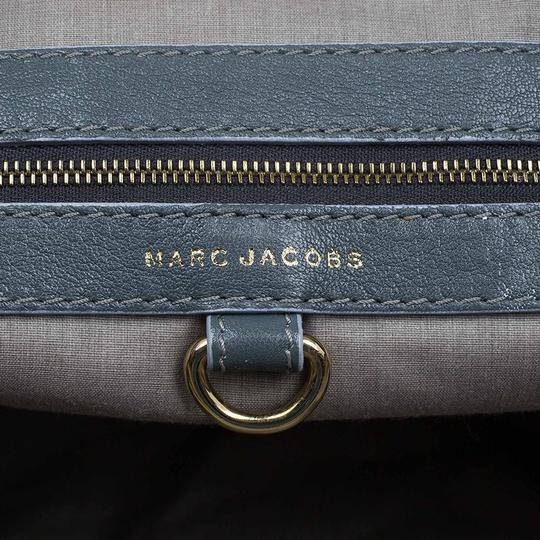Marc Jacobs Leather Fabric Tote in Grey Image 8