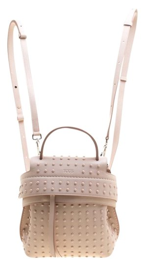 Preload https://img-static.tradesy.com/item/25825386/tod-s-wave-top-handle-pink-leather-backpack-0-1-540-540.jpg