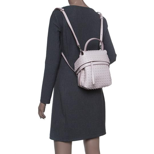 Tod's Leather Suede Backpack Image 2