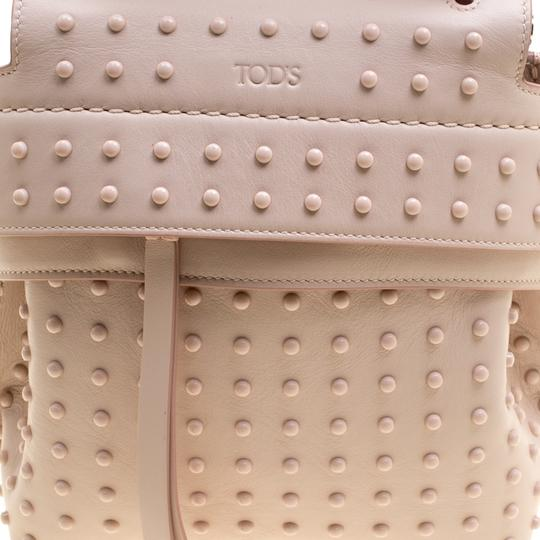 Tod's Leather Suede Backpack Image 8